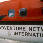 Giles Kershaw, pilot for Adventure Network International