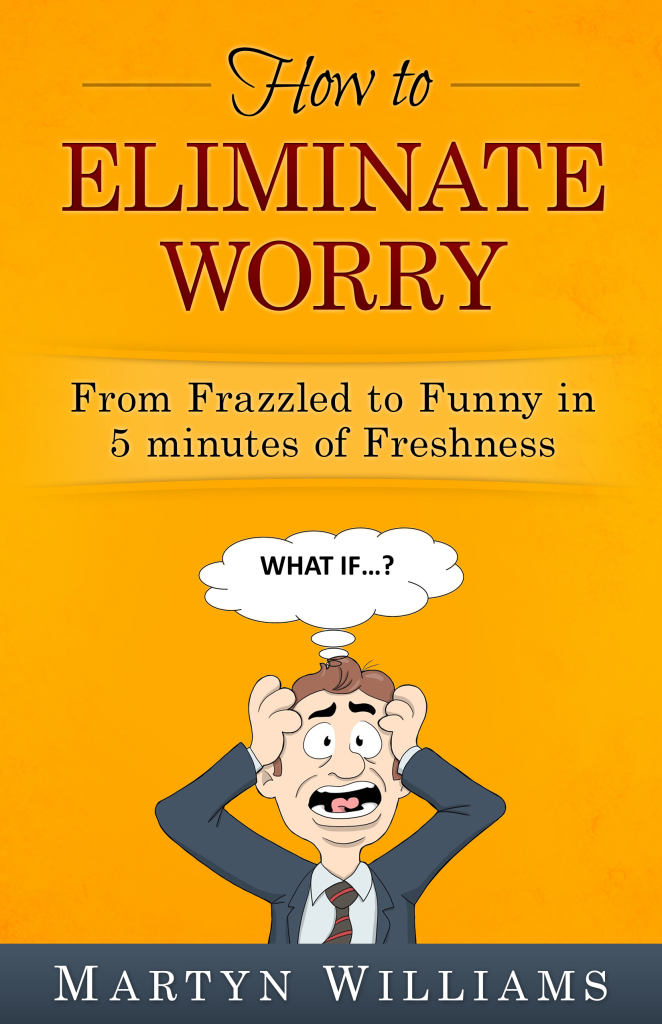 My New Book, How to Eliminate Worry will be out soon. You can purchase it from Amazon