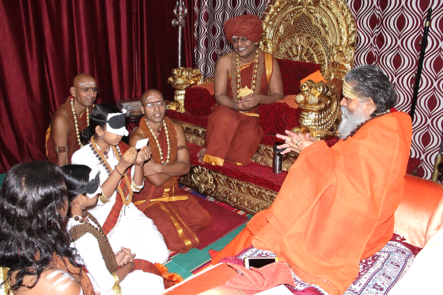 3rd eye demo to Monks in India